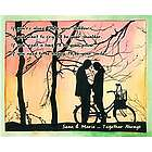 Shadows at Sunset Personalized Print