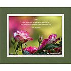 Mom or Like-a-Mom Personalized Roses Print