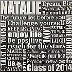 Personalized Dream Big Graduation Canvas Wall Art