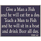 Give a Man a Fish Sign