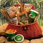 The Fisherman Fishing Creel Large Gift Basket
