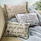 Love Much Sentiments Pillows