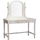 Victorian Vanity Desk with Mirror