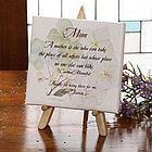 A Mother Like No Other Personalized Canvas Art