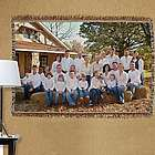 Personalized Family Reunion Tapestry Throw Blanket