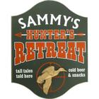 Hunter's Retreat Personalized Pub Sign with Duck