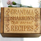Grandma's Top Secret Recipes Personalized Recipe Box