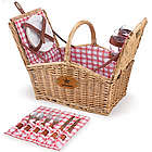 Dallas Cowboys Piccadilly Willow Picnic Basket