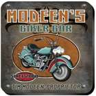 Personalized Vintage Motorcycle Biker Coaster Set