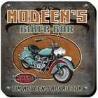 Personalized Vintage Motorcycle Biker Coaster Set