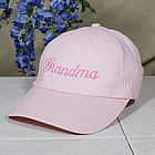 Pink Hat Embroidered with Any Name