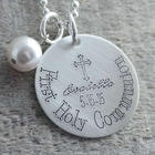 First Communion Personalized Necklace