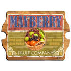 Fruit Company Personalized Vintage Sign