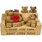 Personalized Beary Loving Family