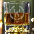 Statesman Personalized Fairbanks Whiskey Glass