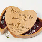 Watch Over This Child Engraved Jewelry Box