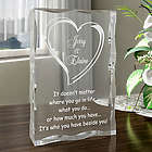 Personalized Always Beside You Plaque
