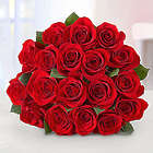 18 Stem Red Rose Bouquet