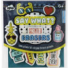 Say What? Scented Erasers