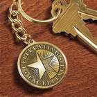 Medallion Award Key Chain