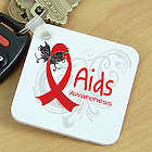 AIDS Awareness Keychain