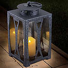 Hampton Solar Metal Lantern