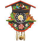 Black Forest Chalet Clock with Teeter-Totter