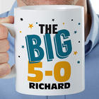 Big Birthday Personalized 30-Ounce Coffee Mug