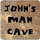 Personalized Man Cave Coasters