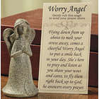Worry Angel with Prayer Card Set