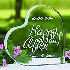 Personalized Happily Ever After Cake Topper