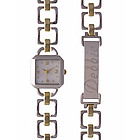 Personalized Two Tone Ladies Watch & ID Bracelet