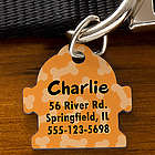Fire Hydrant Personalized Dog Identification Tag