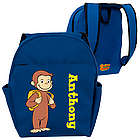 Toddler's Ready for School Curious George Blue Backpack