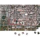 Custom Heirloom Satellite Map Puzzle