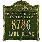 Personalized Welcom to the Lake House Plaque