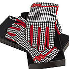 Women's Grandway Houndstooth Driving Gloves