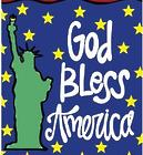 God Bless America Star Garden Flag