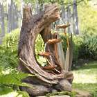 Woodland Stump Fountain