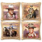 4 John Wayne Decorative Pillows