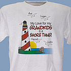 It's A Shore Thing Personalized T-Shirt
