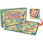 Snakes & Ladders and Ludo Double Sided Board Game