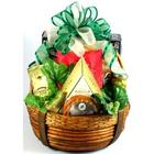 The Distinguished Gentleman Cheese and Snacks Gift Basket
