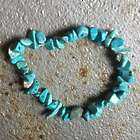 Turquoise Communication Crystal Bracelet