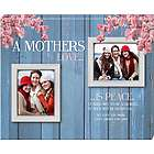 A Mothers Love Double Photo Canvas Art