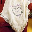 Heartwarming Personalized Wedding or Anniversary Afghan