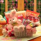 Pink Bunny Fun Easter Gift Basket