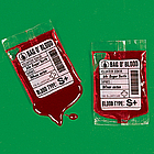 Candy Blood Bag Set