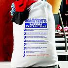 Personalized Laundry Instructions Bag