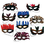 Festive Feather Masks